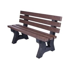 Peak Recycled Plastic Outdoor Bench