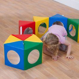 Multi Activity Pentagonal Early Years Mirror