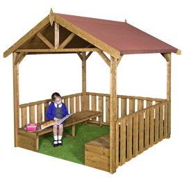 Children's Wooden Outdoor Playground Gazebo