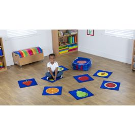 Fruit Mini Placement Classroom Carpets with FREE Holdall