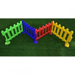 Children's Indoor + Outdoor Plastic Picket Fence