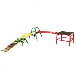 Outdoor Climbing Frame and Children's Gym - Set 7