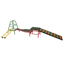 Outdoor Climbing Frame and Children's Gym - Set 10
