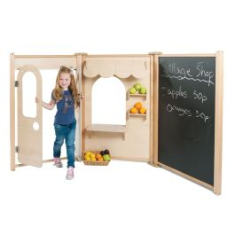 PlayScapes Maple Role Play Panel - Shop Set