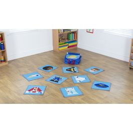 Professions Mini Placement Carpets with FREE Holdall