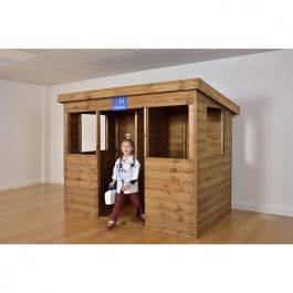 Children's Wooden Role Play Playhouse