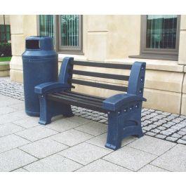 Plastic Outdoor Bench
