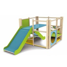 Toddler Indoor Wooden Activity Climbing Frame Centre