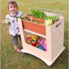 Children's Indoor or Outdoor Mini Garden Trolley