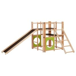 Nursery Indoor Climbing Frame, Slide and Ladder
