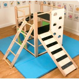 Climbing Wall for Nursery Indoor Climbing Frame