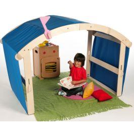 Early Years Indoor or Outdoor Wooden Folding Den