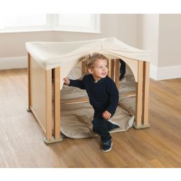 PlayScapes Toddler Cosy Mirror Den Set