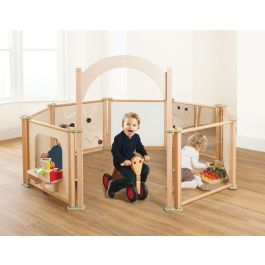 PlayScapes Toddler Role Play Panels - Set of 8