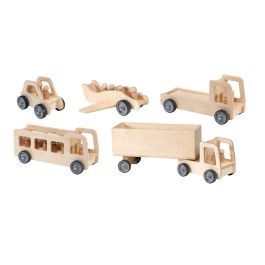 Giant Wooden Nursery Play Vehicles Bundle Deal- Set of 5