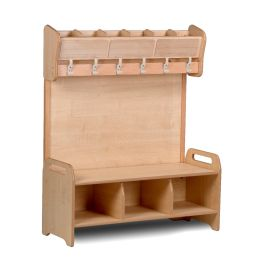 Playscapes Freestanding Welcome Cloakroom Unit