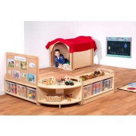 PlayScapes Early Years Mini Hide & Seek Zone - Bundle Deal