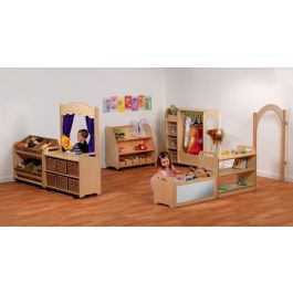 PlayScapes Early Years Dressing Up Furniture Play Zone - Bundle Deal