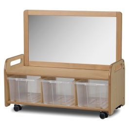 PlayScapes Early Years Storage Unit with Mirror
