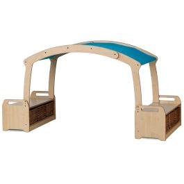 PlayScapes Low Level Den Cave Set - With Baskets