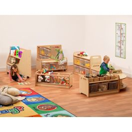 PlayScapes Early Years Explorer Zone Storage - Bundle Deal