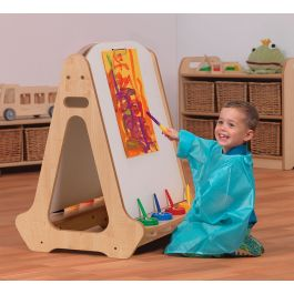 Millhouse Double Sided Early Years Whiteboard Easel