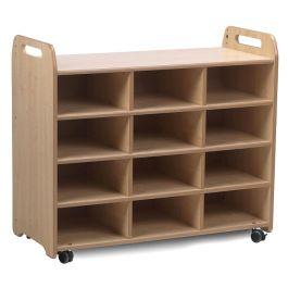 Playscapes 3 Column Shelf Storage Unit
