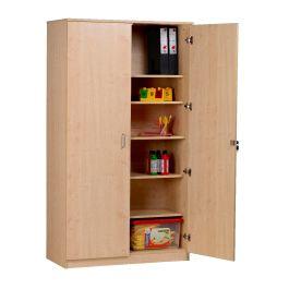 Lockable Tall Classroom Storage Cupboard