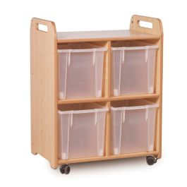 Playscapes 2 Column Shelf Storage with Trays