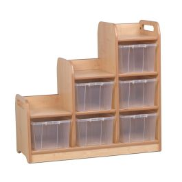 Early Years Stepped Storage - Right Hand