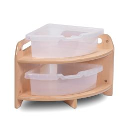 Early Years Wooden Low Level 90° Corner Unit