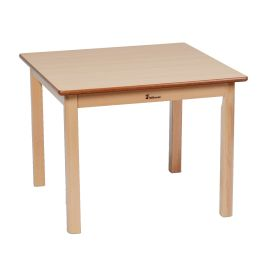 Square Early Years Wooden Table