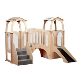 Hide 'n' Slide Playscapes Kinder Gym - With Roof