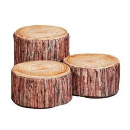 Millhouse Early Years Log Seat Combo - Set of 3