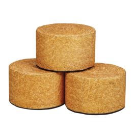 Millhouse Early Years Round Hay Bale Seats - Set of 3
