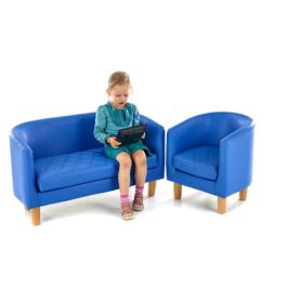 Quilted Children's Tub Sofa