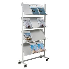 New Quatro Premier Steel Literature Stand