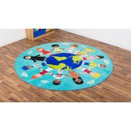 Children of the World Classroom Carpet