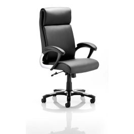 Romeo Executive Leather Folding Chair