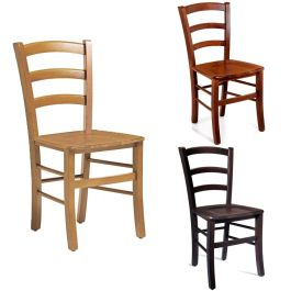 Rosso Wooden Bistro Side Chair