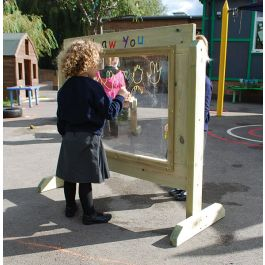 Paint Me Draw You - Outdoor Wooden Activity Panel