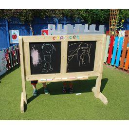 Outdoor Wooden Copycat Activity Panel