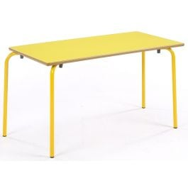 Metalliform Nursery Rectangular Classroom Table