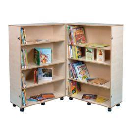 Folding Wooden School Bookcase
