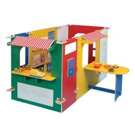 Arcade Role Play Pretend Play Panel Set - Multi Coloured