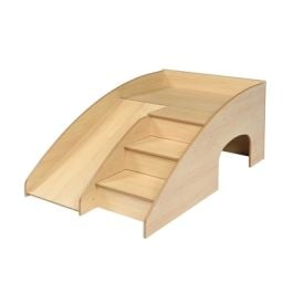 Indoor Slide 'n' Hide Play Tunnel, Maple