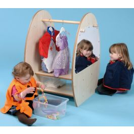 Mini Range Children's Pretend Play Dressing up Trolley