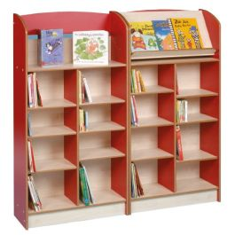 Single Sided Library Bookcase