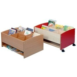 Floor Level 6 Compartment Mobile Kinderbox