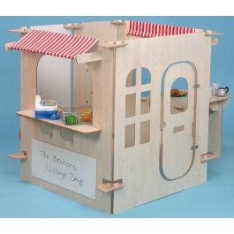 Role Play One Stop Shop Play Panels - Maple